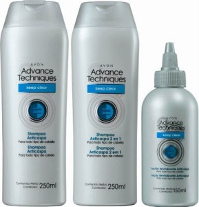 Shampoo+Anti-Caspa+Keep+Clear+Advance+Techniques+da+Avon